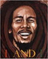 I and I: Bob Marley by Tony Medina: