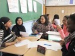 Writing Mentors help out students at DeWitt Clinton HS