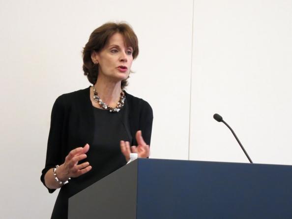 joan speaking